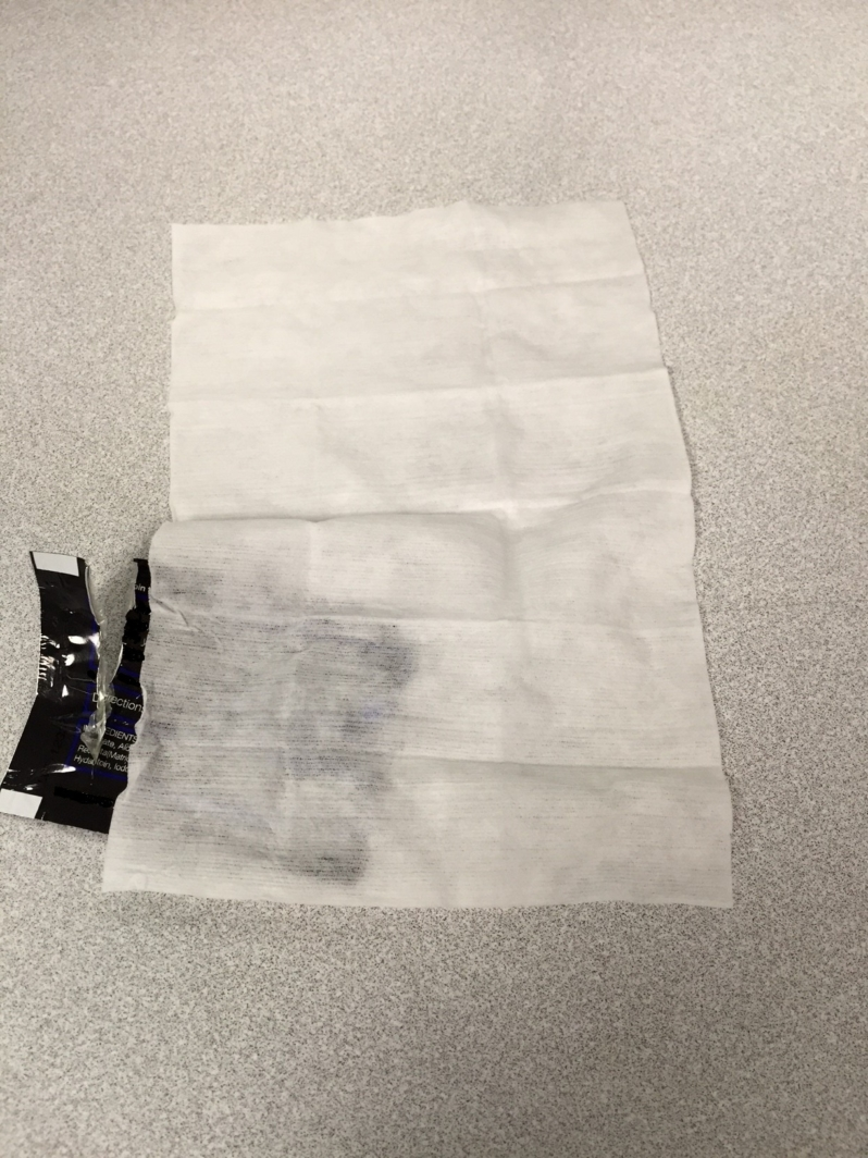 Wet Wipes Sachet for HBA Packaging