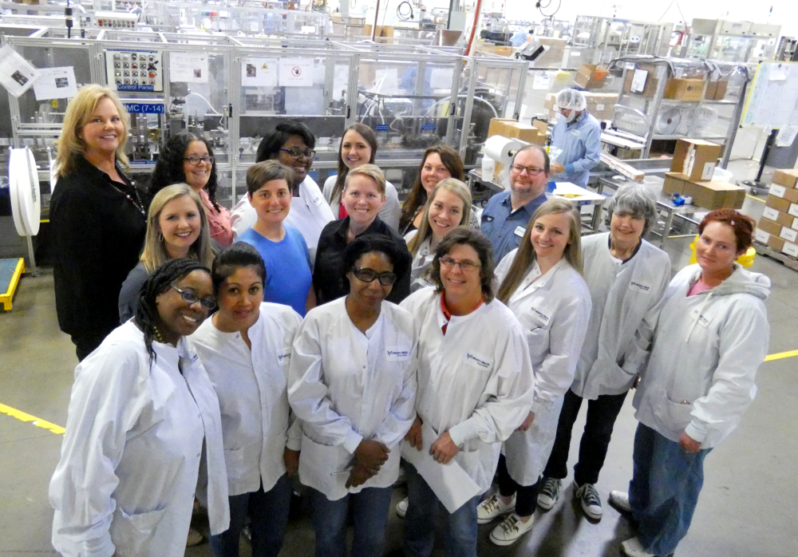 Multi-Pack Solutions Contract Packaging and Manufacturing Team