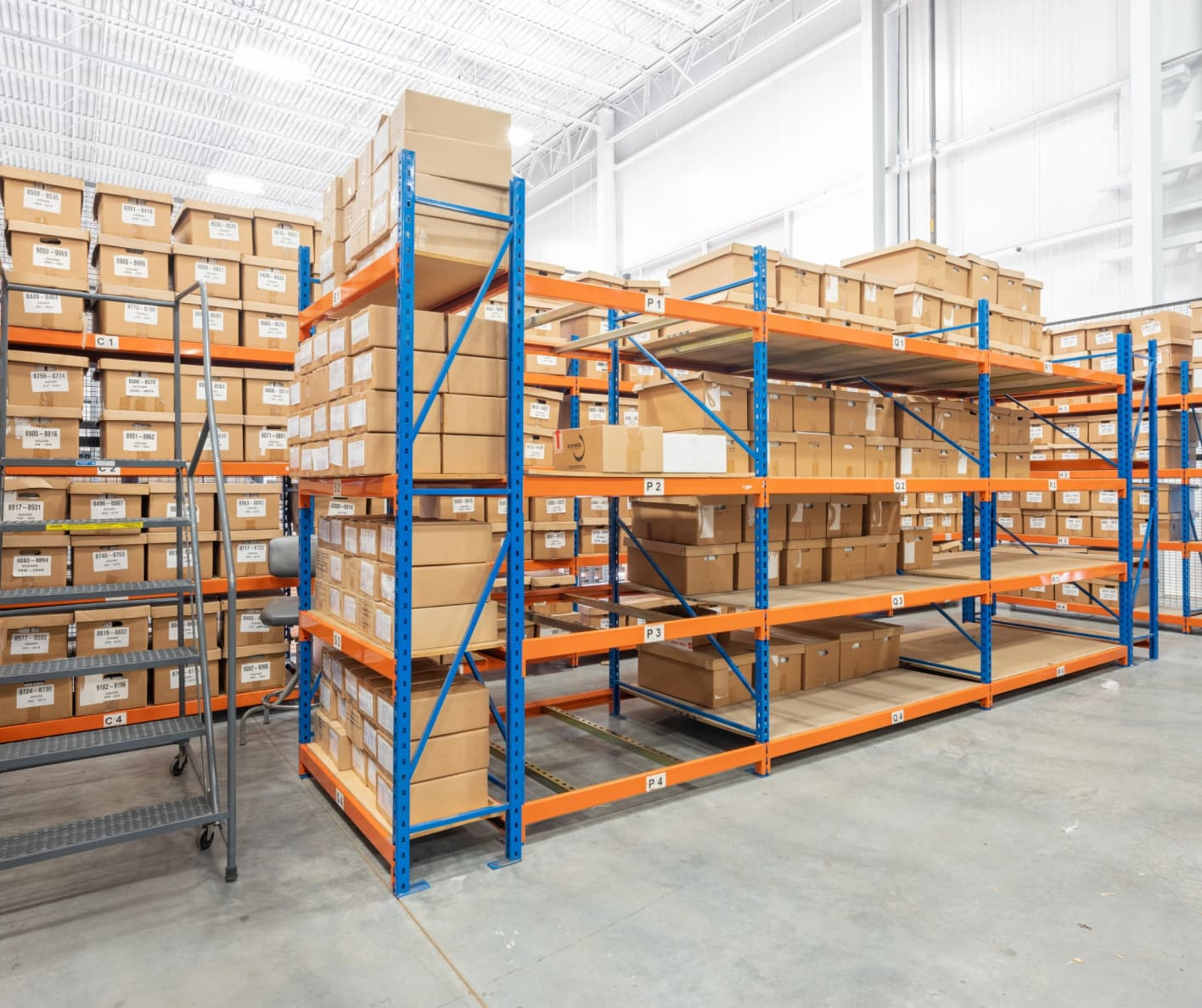 multipack warehouse boxes